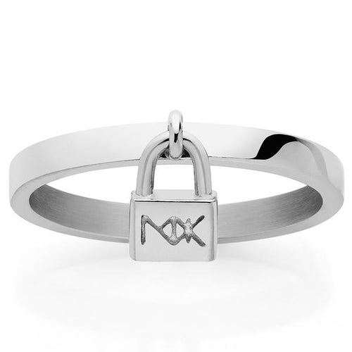Meadowlock Silver Lock Ring