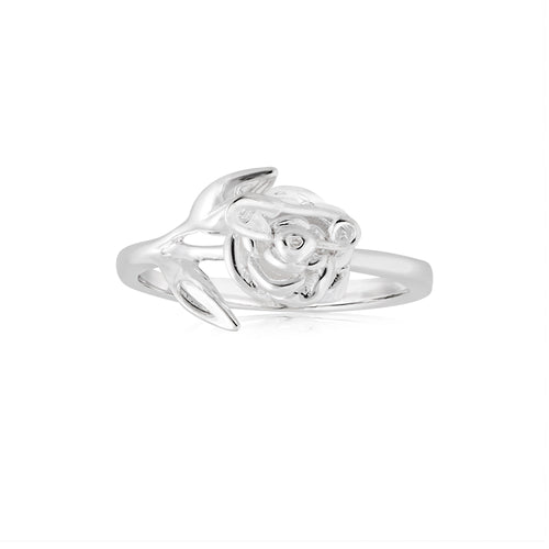 Silver Punk Rose Ring (SM Exclusive)