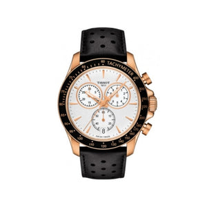 V8 Rose Gold and Chrono White Black Mens Watch