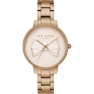 Brook Rose Gold Bow Watch