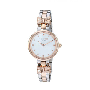 Amy Two Tone Bow Watch