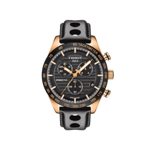 PRS516 Quartz Rose Gold and Black Automatic Mens Watch