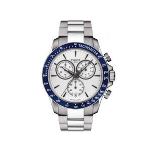 V8 and Chrono White Mens Watch
