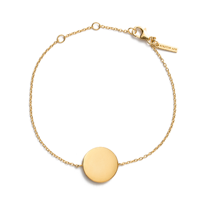 Gold Plated Treasure Coin Bracelet