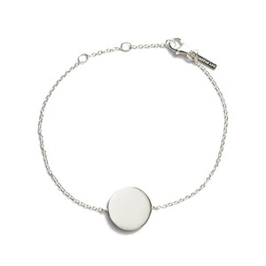 Silver Treasure Coin Bracelet