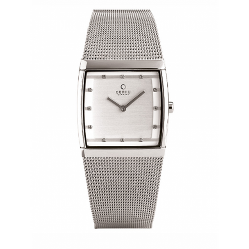 Steel Square Dial Lund - Lille Steel Watch