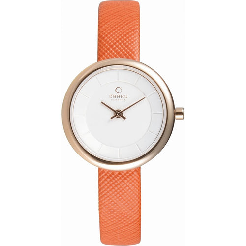 Gold Tone with White Dial - Stille Pumpkin Watch