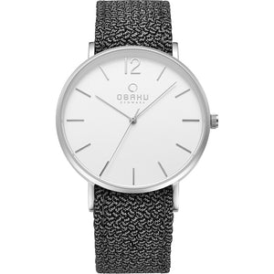 Mark Turn Nylon Strap Watch