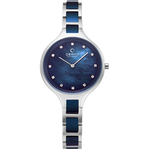 Iris Bluesteel Watch