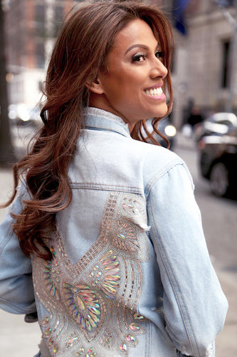 Sri Embellished Denim Jacket