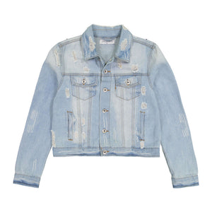 Rekha Embellished Denim Jacket