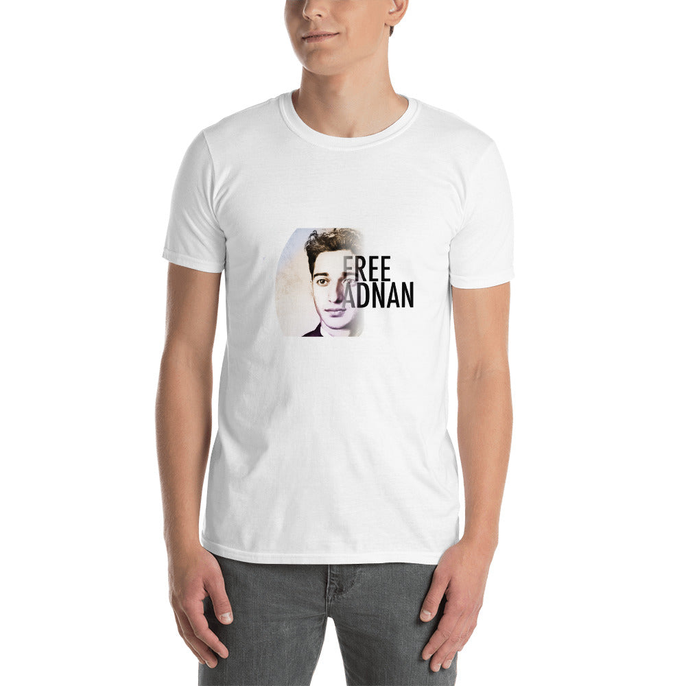 Free Adnan Portrait Men's T-Shirt