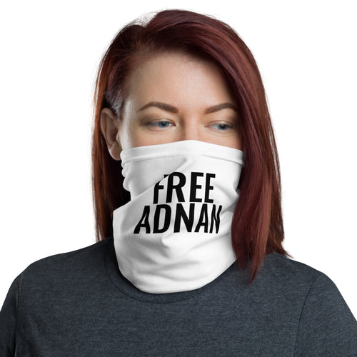 Free Adnan Neck Gaiter & Face Cover