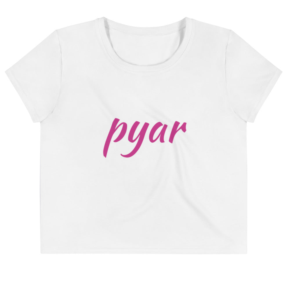 Pyar (Love) Crop Tee