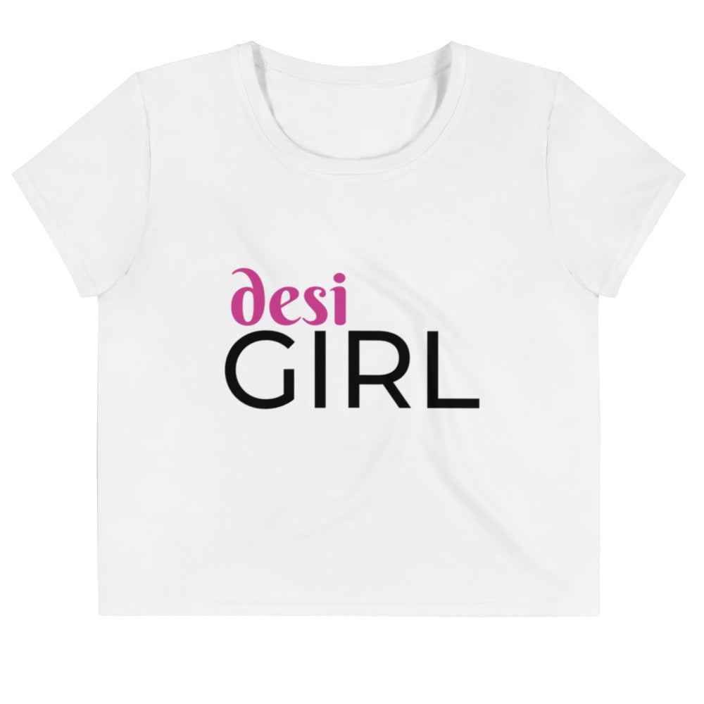 Desi Girl Crop Tee