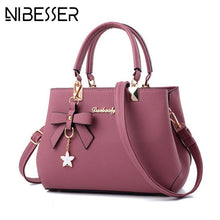 Load image into Gallery viewer, Luxury Designer Shoulder Bag Handbags Plum Bow Sweet Crossbody for Women
