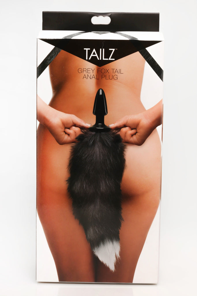 Experiencias - TAILZ FOX TAIL ANAL PLUG-GREY