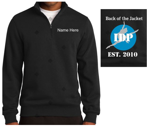 Zipper, IDP 3/4 Zip in Black - I Dance Project