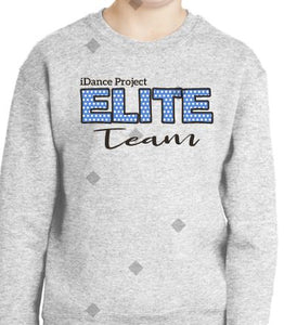 Elite Crew Sweat Shirt Top ASH Color