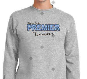 Premier Crew Sweat Shirt Top ASH Color