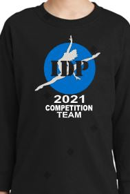Competition Team T-shirt Long Sleeve