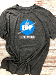 IDP EST.2010 Dark Heather with I dream, I believe, I Dance on the Back - I Dance Project