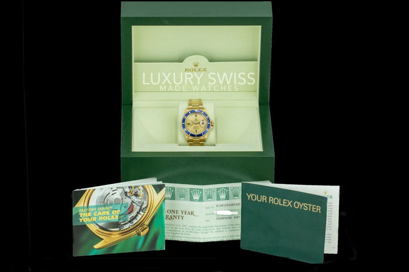 Pre-Owned Rolex Submariner 16618 - LSM WATCH