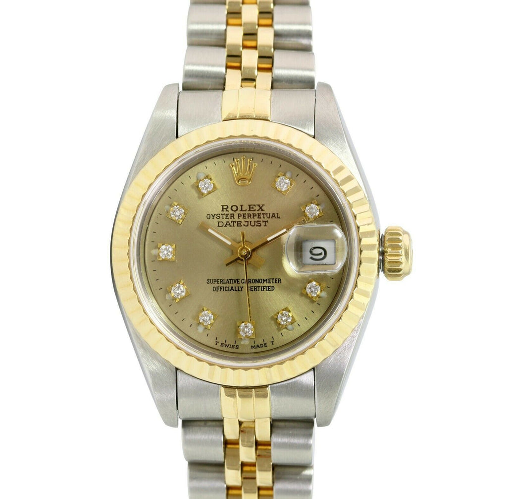 Pre-Owned Rolex Lady Datejust 69173 - LSM WATCH