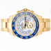 Rolex Men's Watch Yacht-Master II 116688 18K Yellow Gold White Blue Face 44mm