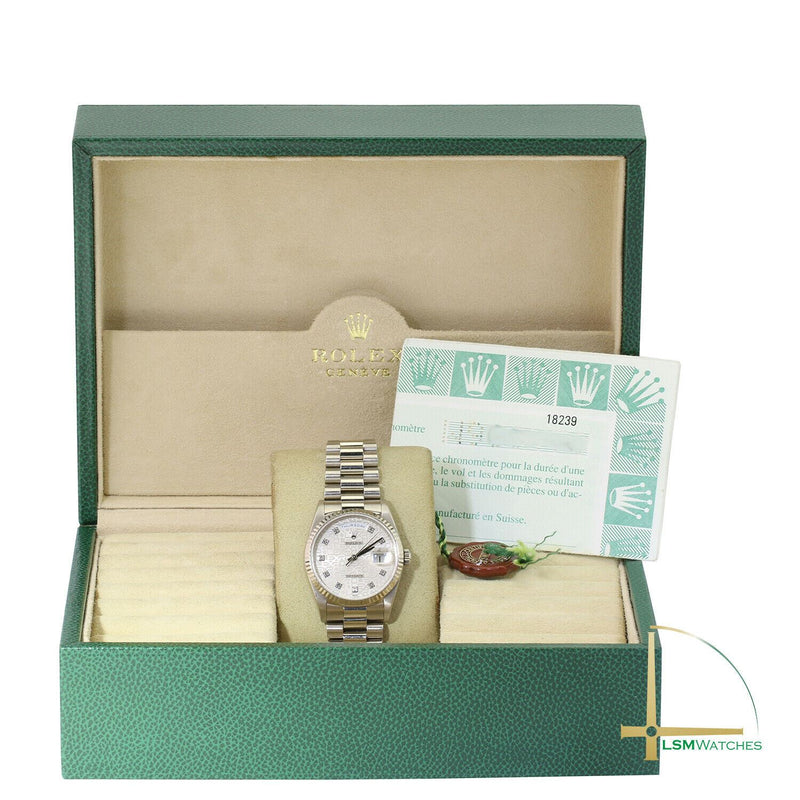 Pre-Owned Rolex Day-Date 18239 - LSM WATCH
