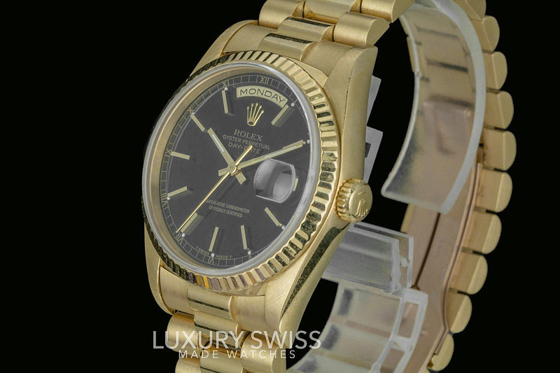 Pre-Owned Rolex Day-Date 18038 - LSM WATCH