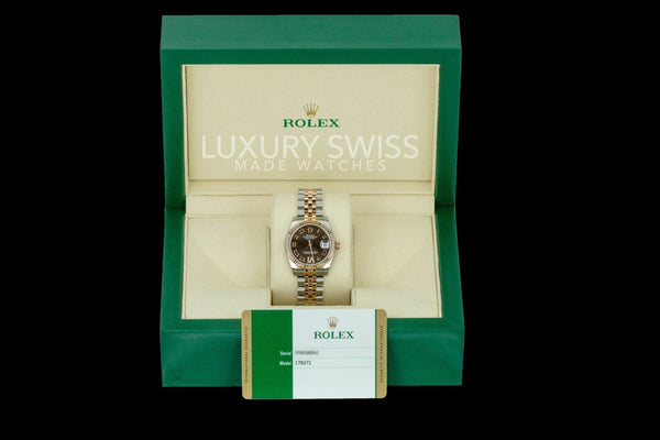 Unworn Rolex Lady Datejust 178271 - LSM WATCH