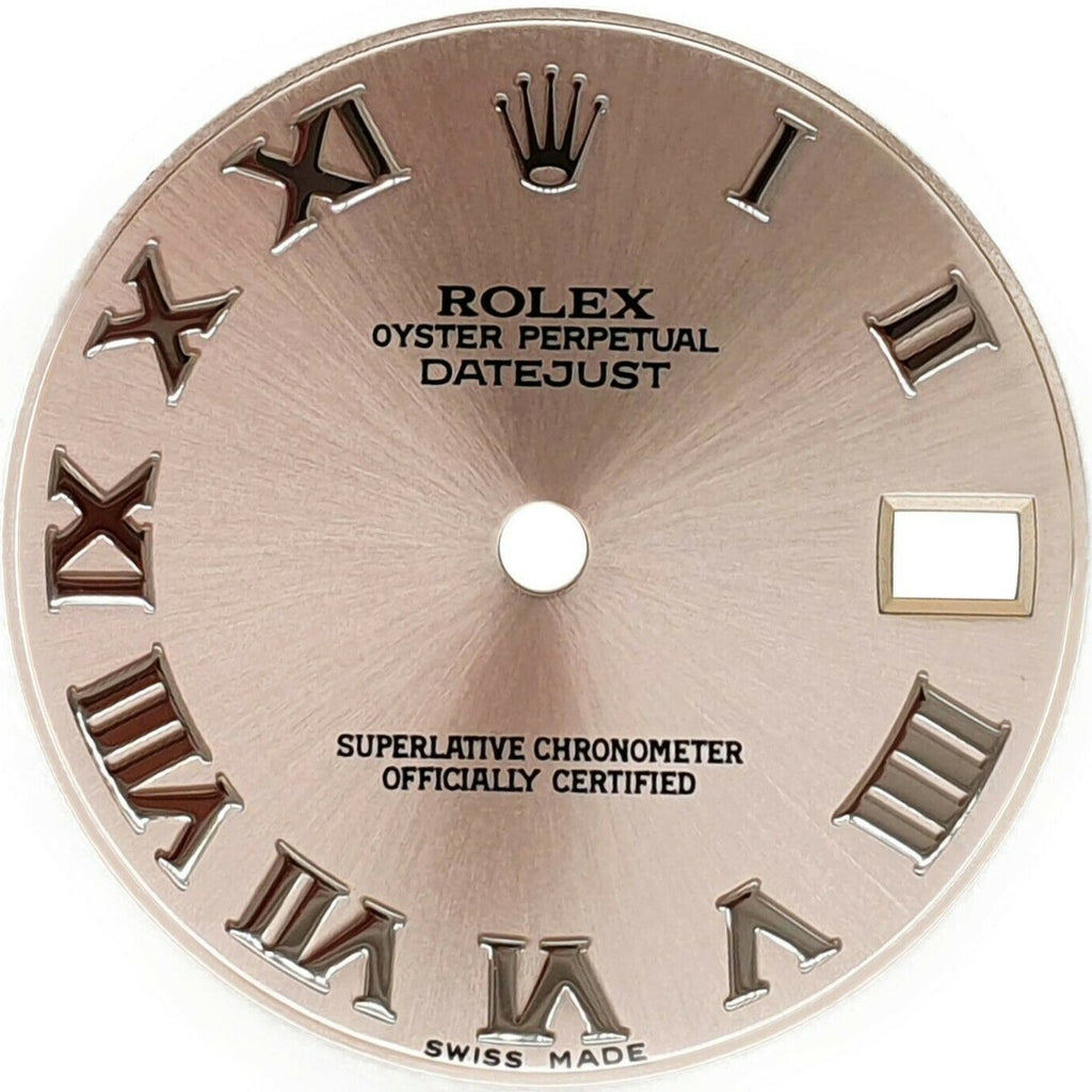 Original Rolex Ice Pink Roman Numeral Dial for Datejust 31mm 178240 178274 Watch - LSM WATCH