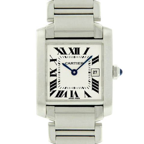 Pre-Owned Cartier Tank Francaise W51002Q3 - LSM WATCH