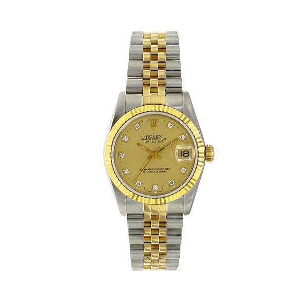 Pre-owned Rolex Mid-Size Datejust 68273
