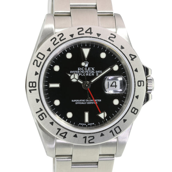Pre-Owned Rolex Explorer II Stainless Steel 16570