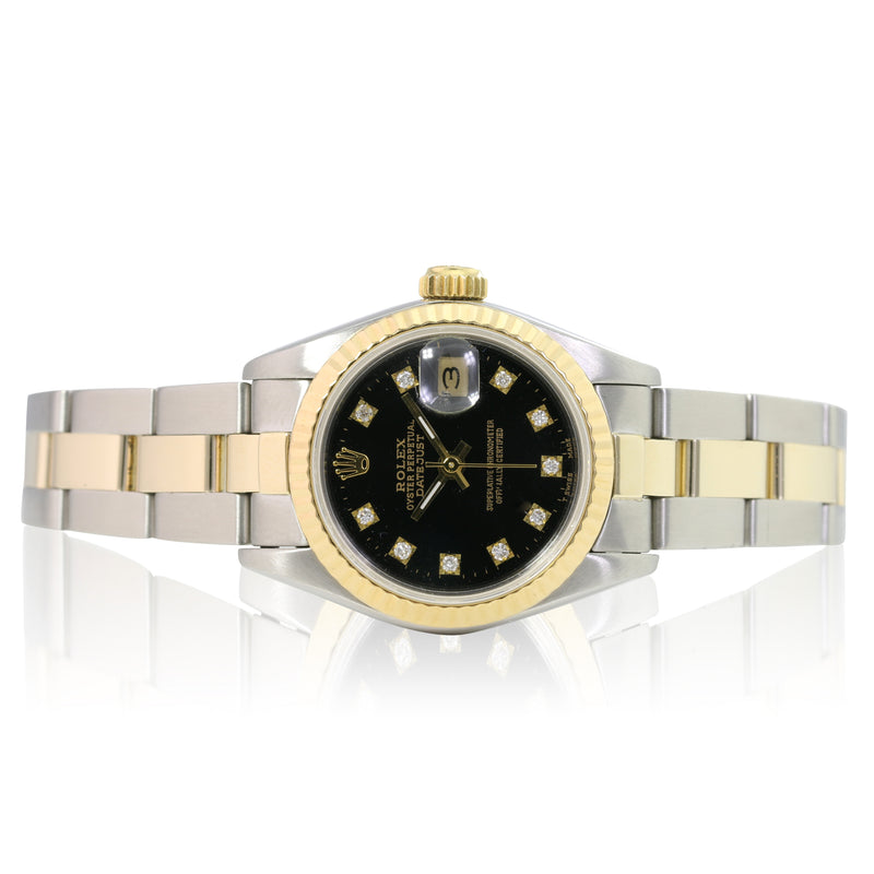 Pre-owned Rolex Lady Datejust 69173