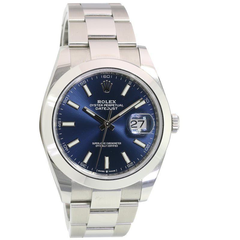 Pre-Owned Rolex Stainless Steel Datejust II 126300