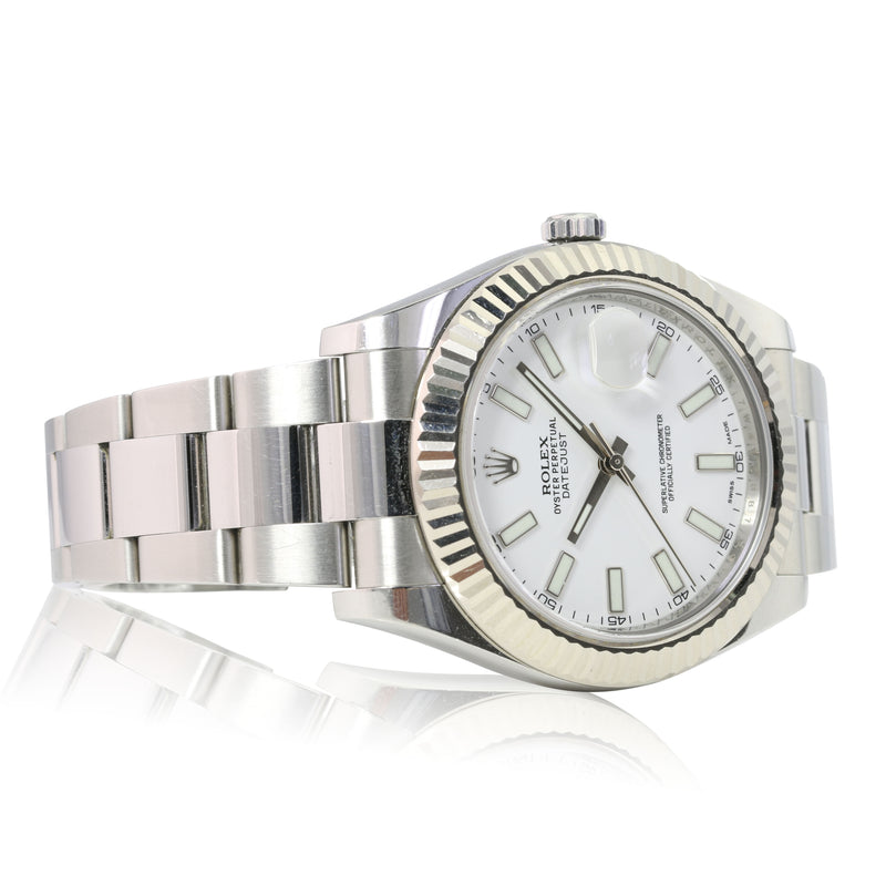 Pre-owned Rolex Datejust II Stainless Steel 116334