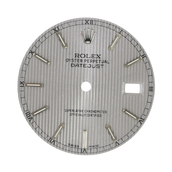 Original Rolex Grey Tapestry Index Dial 36mm