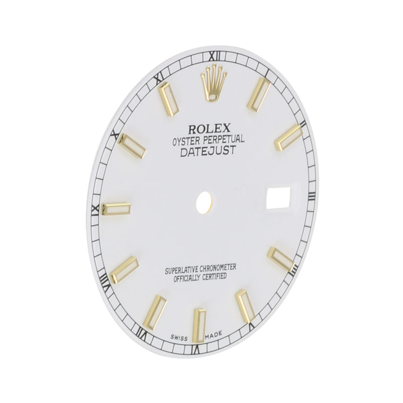 Original Rolex White Index Dial 36mm