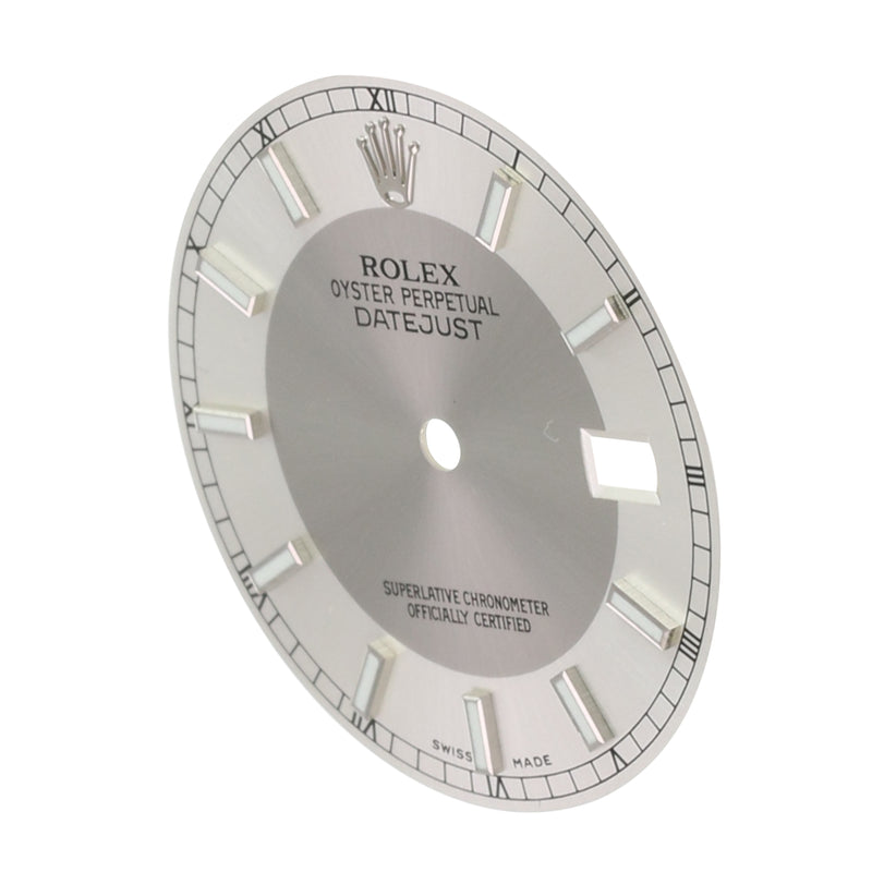 Original Rolex Silver Concentric Index Dial 36mm