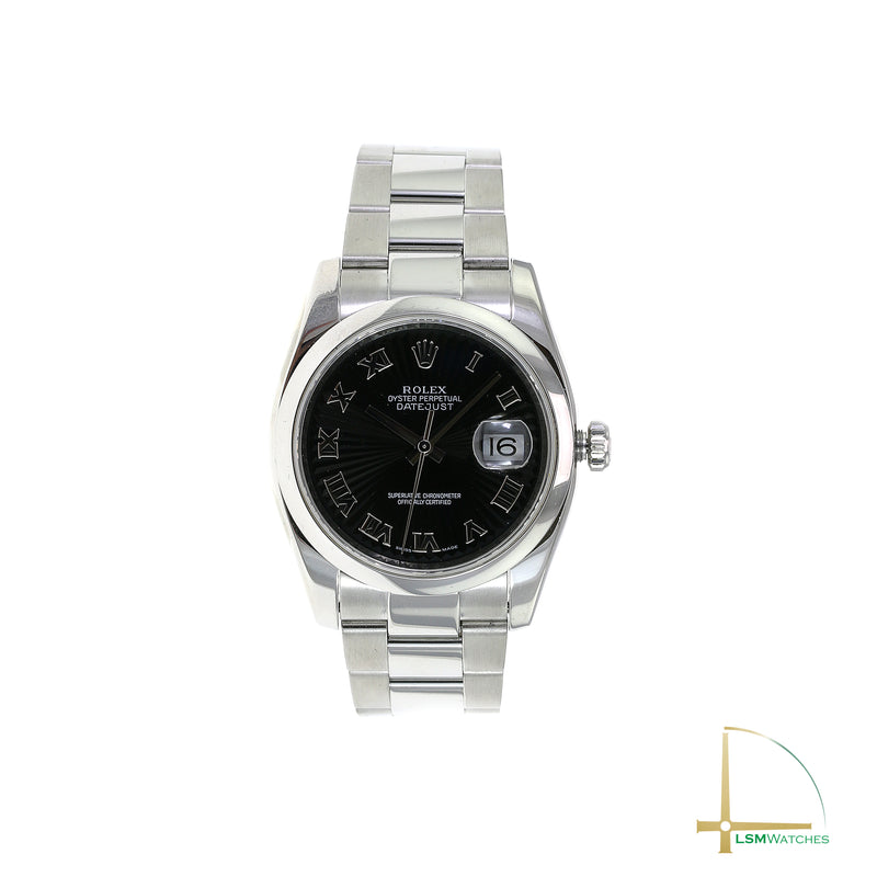 Pre-owned Rolex Datejust Stainless Steel 116200