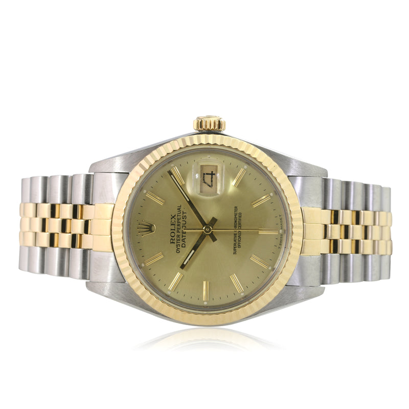 Pre-owned Rolex Mens Datejust 16013