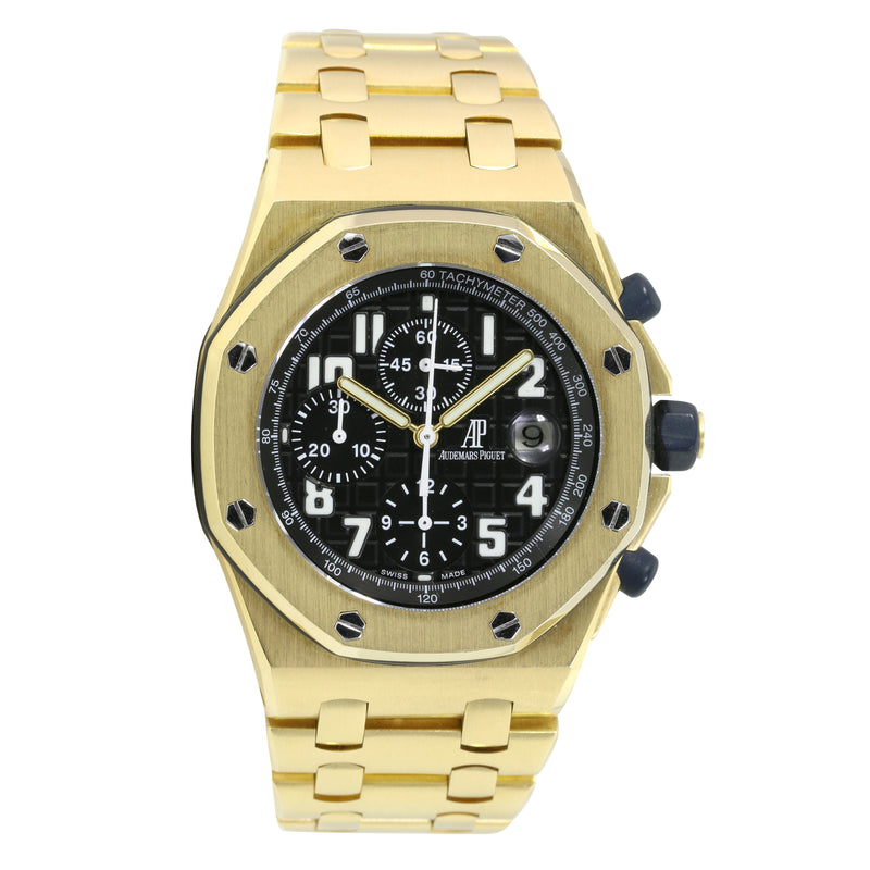 "Pre-owned Audemar Piguet Royal Oak ""Brick"" Watch"