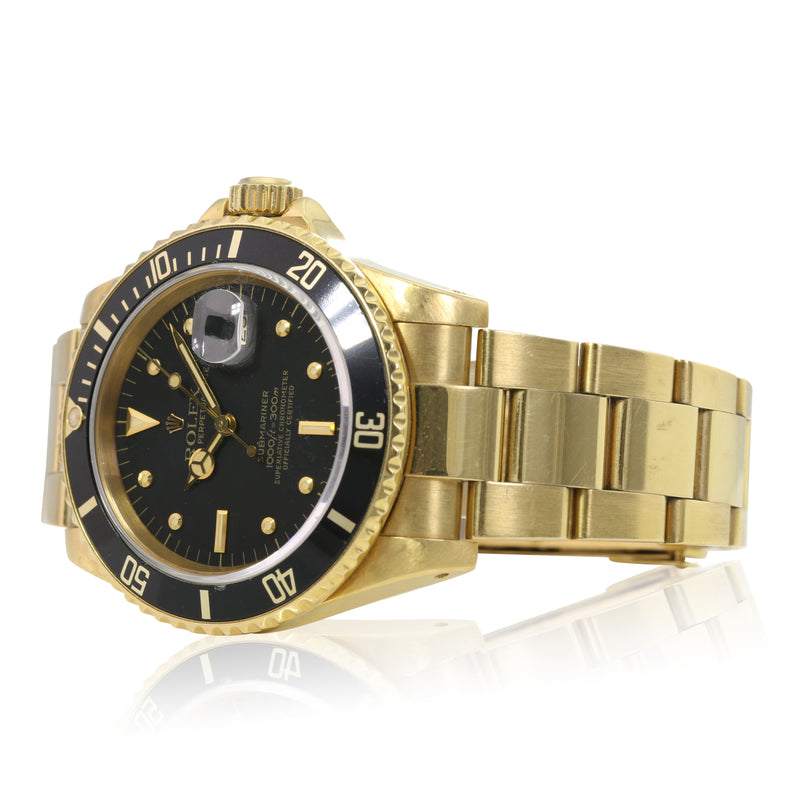"Pre-owned Rolex Submariner 16808 ""UNPOLISHED"""