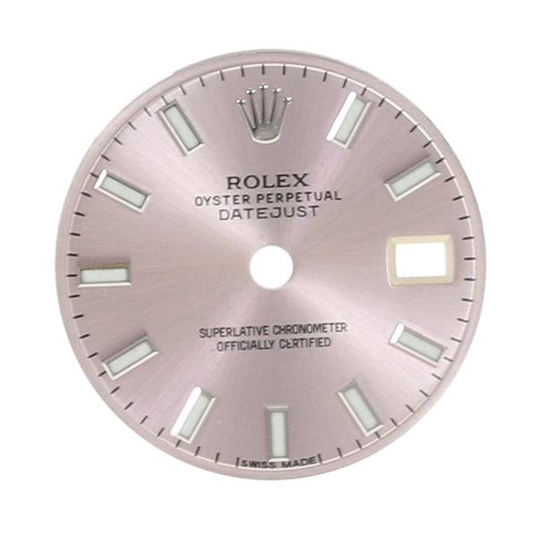 Rolex Lady Datejust Ice Pink Dial 26mm