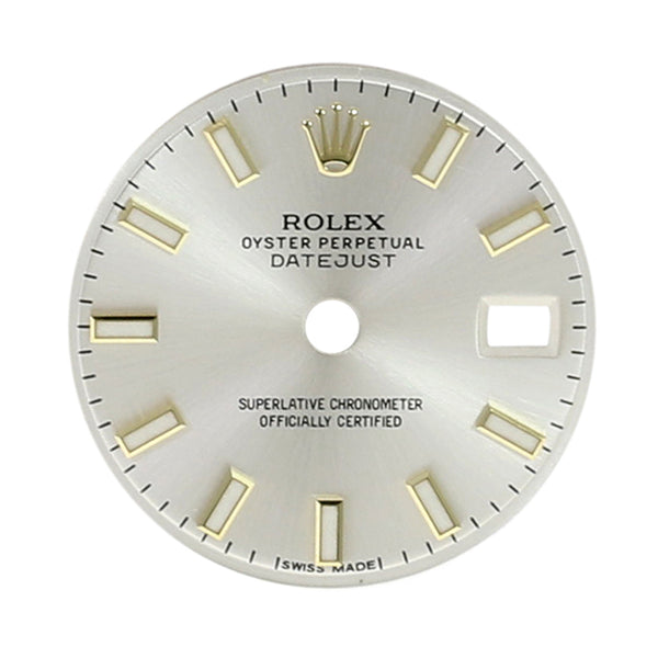 Rolex Lady Datejust Silver Index Dial 26mm