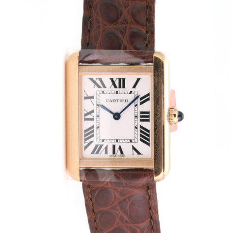 Unworn Cartier Tank Solo - LSM WATCH