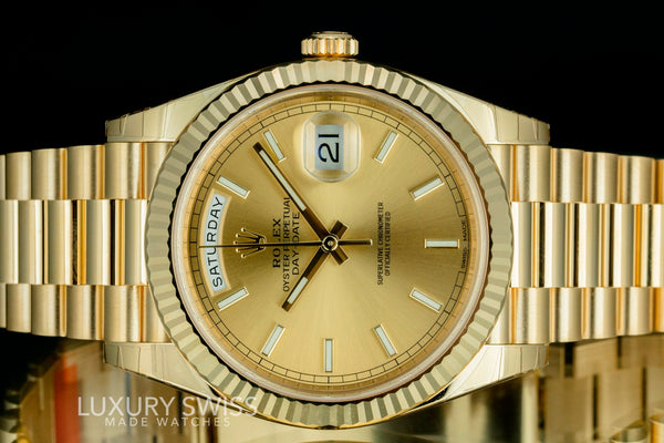 Unworn Rolex Day-Date 228238 - LSM WATCH
